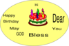 Simple Birthday Wishes Clip Art