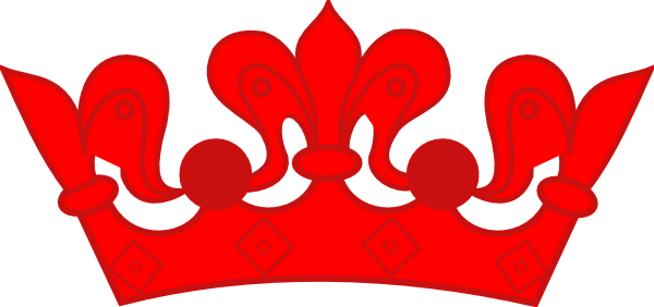 red crown clipart - photo #10