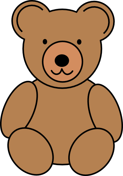 teddy bear clip art at clker com vector clip art online royalty rh clker com bear clip art free images bear clip art black and white