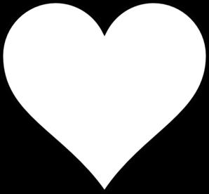 Black Outline Heart Clip Art at Clker.com - vector clip ...