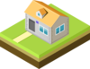 Isometric House Clip Art