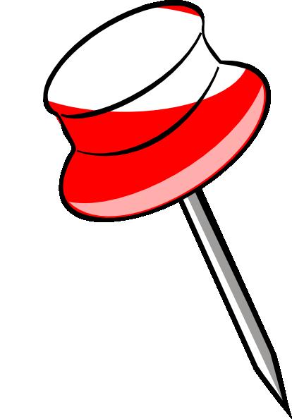Tack Red Clip Art at Clker.com - vector clip art online ...