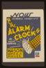 The Alarm Clock  By Avery Hopwood Clip Art