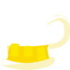 Beer Mug 1/3 Full Clip Art
