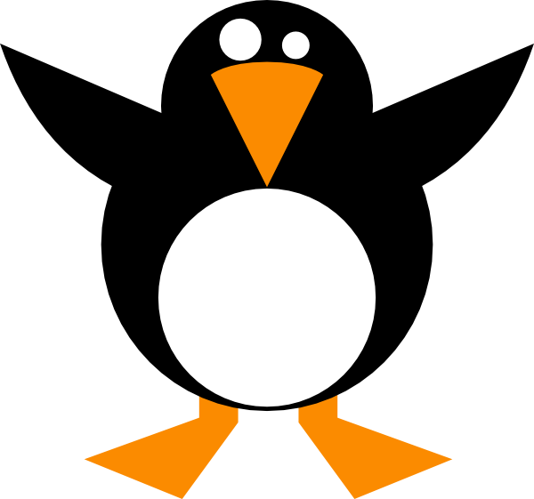 Simple Penguin Clip Art At Clker.com