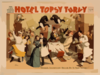 The New Musical Comedy, Hotel Topsy Turvy Clip Art