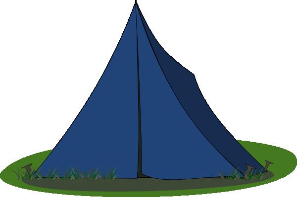 blue ridge tent clip art at clkercom vector clip art