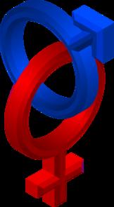 Male/female Symbols Clip Art at Clker.com - vector clip art online ...