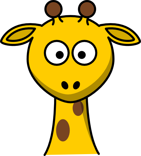Giraffe Head No Body Clip Art at Clker.com - vector clip ...