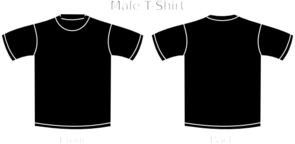 Plain Black T Shirt Clip Art