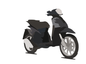 Piaggio Liberty Scooter Pictures Clip Art