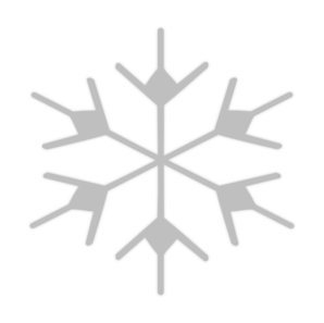 Snow Flake Icon2 Clip Art