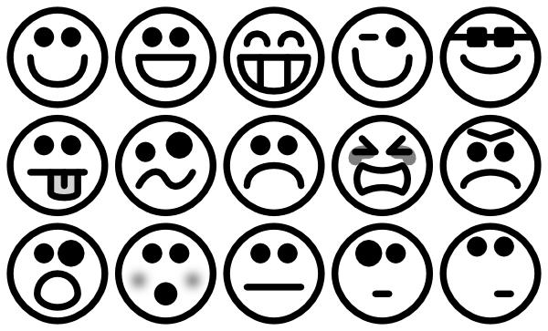 Someones Smiley Marks Clip Art At Clker.com