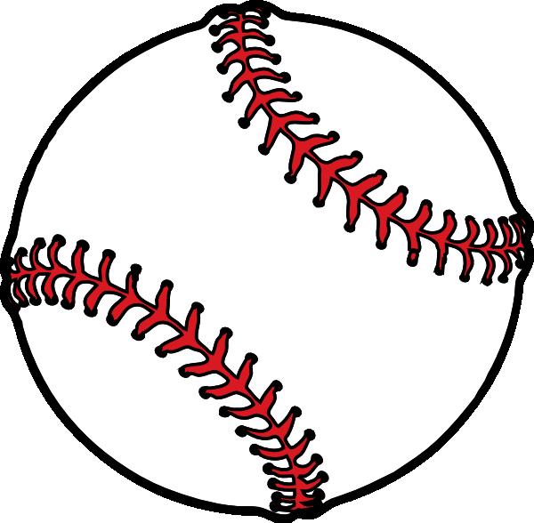 baseball thick boarder clip art at clker com vector clip art rh clker com free baseball clipart images baseball clipart images