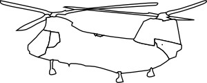Ch-46e -rough Draft Clip Art
