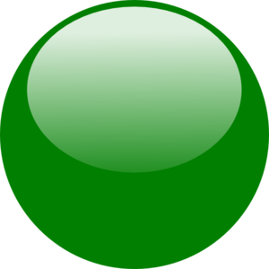 Bubble Green Clip Art