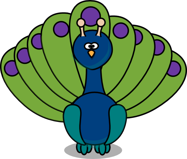 clipart pictures peacock - photo #9
