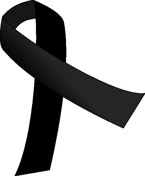 Black Ribbon Clip Art at Clker.com - vector clip art ...
