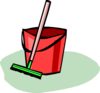 Bucket And Mop Clip Art