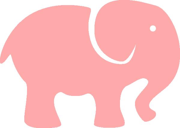 clip art pink elephant - photo #25
