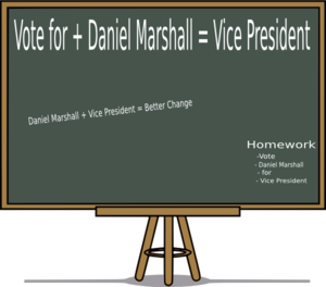 Vote Me For Vp Clip Art