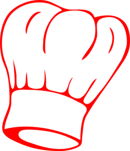 Chef Hat Red Clip Art