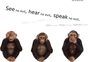 See No Evil Hear No Evil Speak No Evil Clip Art