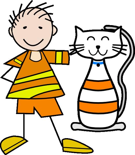 cat and boy clip art at clker com vector clip art online chipmunk clipart cartoon black and white Squirrel Clip Art