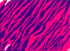 Pink And Purple Zebra Print Background Clip Art