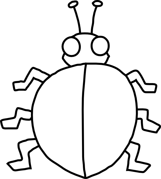 Ladybird With No Spots Clip Art at Clker.com - vector clip art ...