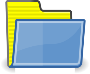 Folder Yellow Clip Art