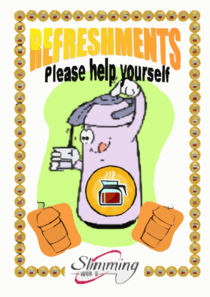Refreshments Clip Art