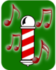 Barbershop Quartet (abstract) Clip Art