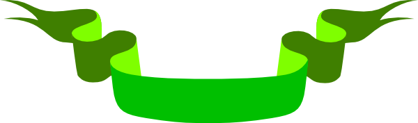 free clip art green ribbon - photo #19