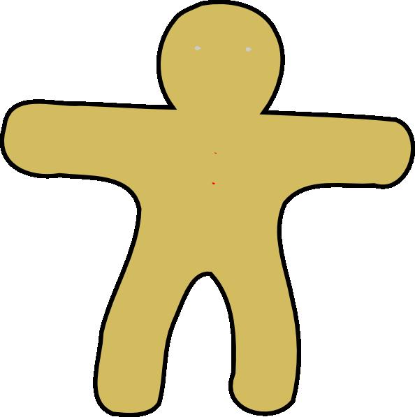 Gingerbread Man Clip Art at Clker.com  vector clip art online