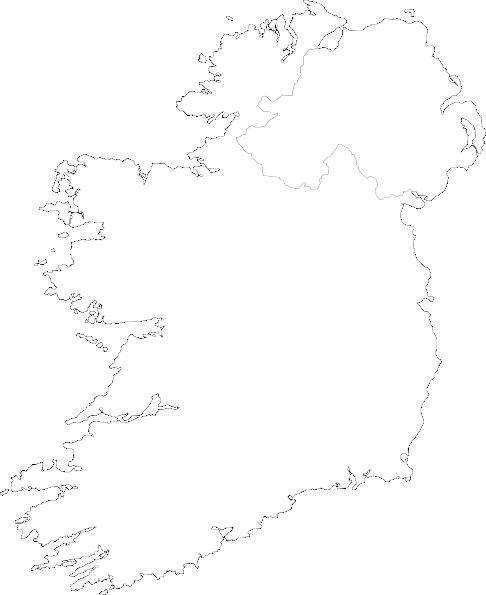 Map Of Ireland Vector.Ireland Contour Map Big Clip Art At Clker Com Vector Clip Art