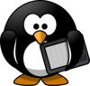Ebook Penguin Clip Art