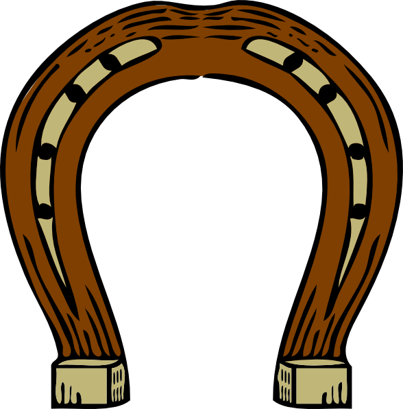 Double horseshoe template - photo#14