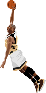 Basketball Slamdunk Clip Art