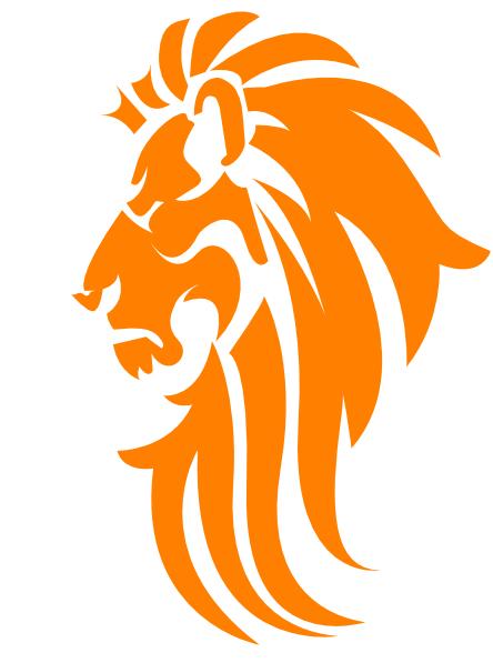 yellow lion logo - photo #43