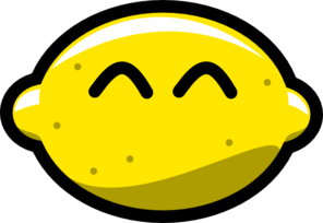 Happy Lemon Clip Art