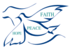 Peace, Faith And Hope Clip Art