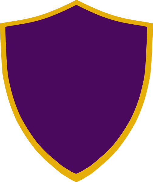 Gold And Purple Shield Clip Art At Clker.com