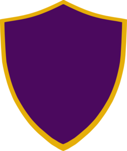 Gold And Purple Shield Clip Art At Clker Com Vector Clip