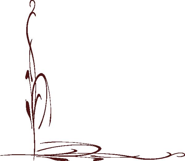 Fiore Stilizzato Clip Art at Clker.com - vector clip art online ...