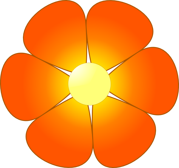 flower petals graphics clipart rh worldartsme com flower petal clipart free flower 5 petal clipart