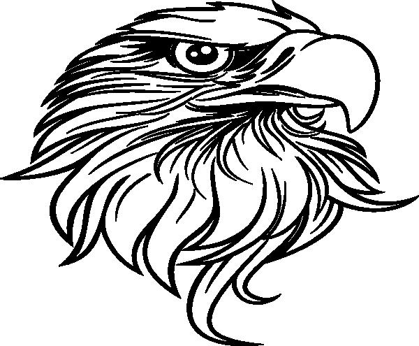 black eagle clip art at clker  vector clip art online