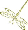 Dragonfly Down Clip Art