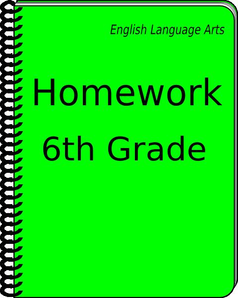 clipart homework book - photo #22