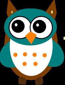 Blue Owl Clip Art At Clkercom Vector Clip Art Online Royalty